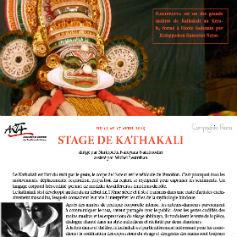 Stage de Kathakali