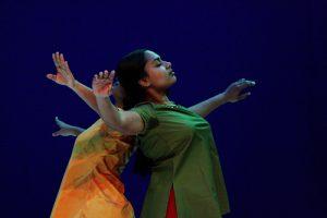 Gopika, chorégraphie de Brigitte Chataignier, Vitré, décembre 07.
