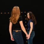 Un Tracé / Brigitte Chataignier et Catherine Legrand. photo Caroline Ablain