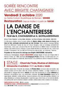 flyer La Danse de l'Enchanteresse